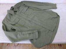 Us48 US Army ww2 Mustard Top m1937 Officer ufficiale campo Camicia Camicia