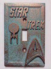 Star Trek Copper/Patina Light Switch Cover (Custom)