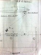 """6)Plan Avion Modèlisme """"R 1038"""""""