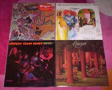 OREGON ~ 4 orig 1970's vinyl LP's. Ralf Towner, jazz, fusion. NM/EX+.