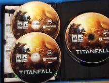 Titanfall (PC: Windows, 2014) Case, 3 discs, Key                          S-3