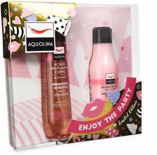 AQUOLINA Woman Perfume Water Fragrant Strawberry Wild + Shower Bath + Gift