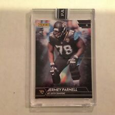 Jermey Parnell #341 RC Jaguars / Mississippi 1/1 Made 2017 Panini Instant Black
