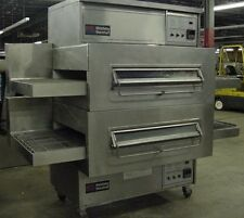 middleby marshall ps360 doublestack gas conveyor pizza ovens warranty avail - Pizza Ovens For Sale