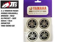 YAMAHA Réservoir / panneau soulevé résine Roundal Cocarde / insignes / RD TDR x4 50mm dia