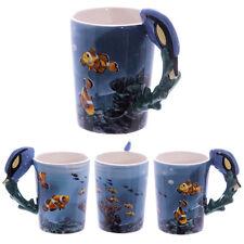 Fantasy Tasse Doktorfisch Korallenriff Kaffeetasse Kaffeebecher Becher Teetasse
