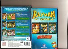 RAYMAN 10TH ANNIVERSARY 3 GAMES PLAYSTATION 2 PS2 PS 2