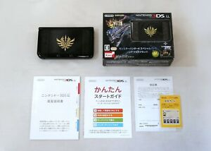 Nintendo 3DS LL Console Monster Hunter 4 Special Pack Gore Magara Black Japan
