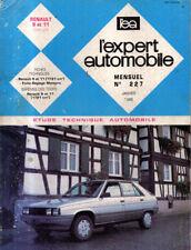 RTA revue technique automobile N° 227 RENAULT 11  9 R11 R9