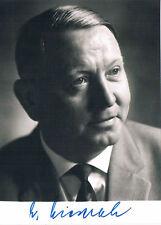 Deutschland CSU Alois Niederalt 1911-2004 orig. Autogrammfoto signiert 10x15cm
