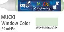 (100ml=8,97€) MUCKI Window Color Fenstermalfarbe 29ml Pen für Kinder ab 4 Jahren