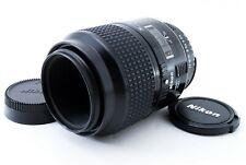 【EXC+++++】 Nikon AF Micro Nikkor 105mm f/2.8 Telephoto Lens from Japan 1153