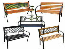 Up to 3 Cast Iron Garden Chairs, Swings & Benches