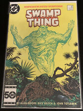DC Saga Of The Swamp Thing #37 First John Constantine Alan Moore VF-