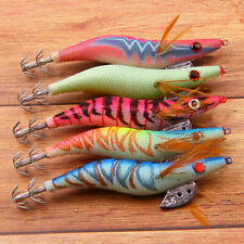 Artificial Fishing Lures Squid Jigs Octopus Cuttlefish Shrimp  Squid Jig Wrapped