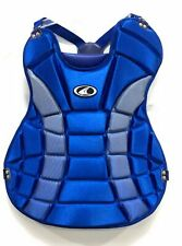 "Champro Youth Baseball Catchers Chest Protector CP02 Blue 17.9 - 18.5 "" Chest"