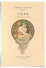 DAWN 1899 Alphonse Mucha Art Nouveau Nudes Rolled CANVAS PRINT 30x17 in.