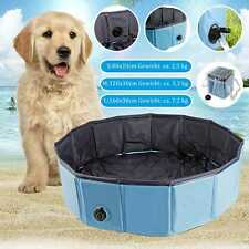 Plegable Piscina para Perros Hundebadewanne Doggy Bañera Lavabo de Agua S/M/L