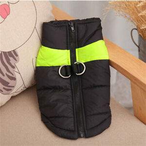 S M L XL 5XL Large Warm Padded Pet Winter Clothes Coats Vest Jacket For Dogs New