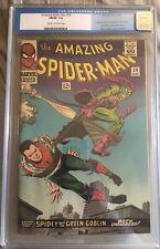 Amazing Spider-Man 39 CGC 7.0 Fn/Vf John Romita August 1966