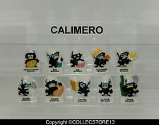 SERIE COMPLETE DE FEVES CALIMERO