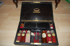 KIRBY Victorian Fitted Apothecary Cabinet -Minature Dispensary -Full Contents