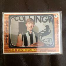 AFL/VFL SCANLENS 1967 LEN THOMPSON COLLINGWOOD N.MINT