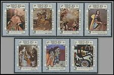 LAOS N°562/568** Tableaux Miro, Picasso, Goya, Zurbaran... TB 1984 Paintings MNH
