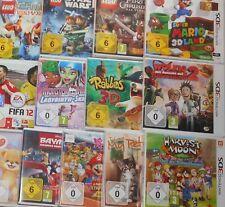 NINTENDO 3DS SPIEL ZUM AUSSUCHEN EINMAL PORTO ZB.MARIO SONIC LEGO DISNEY RABBIDS