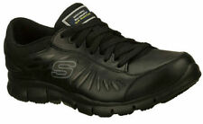 Skechers Flat (0 to 1/2 in.) Leather Fashion Sneakers Athletic Shoes for Women