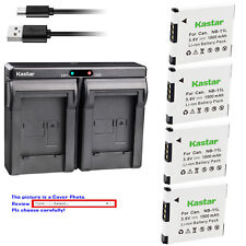 Kastar Battery USB Dual Charger for Canon NB-11L & Canon PowerShot A2300 A2300IS