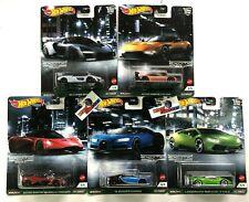IN STOCK * 5 Car Set * Exotic Envy Hot Wheels Car Culture Case D