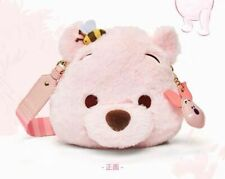 Winnie the pooh bag pouch crossbody Sakura 2020 Shanghai Disney store