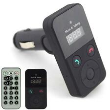 Car Kit Wireless Bluetooth Fm Transmitter Modulator Mp3 Player Sd Usb Lcd Remote