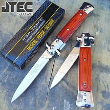 "9"" TAC FORCE Spring Assisted ITALIAN MILANO STILETTO Tactical Open Pocket Knife"