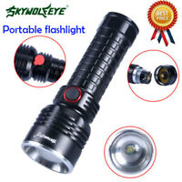 SkyWolfEye Zoomable Tactical T6 LED Flashlight 50000LM Camping Torch Light/Lamp
