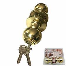 Door Knob Single Cylinder Door Lock,Gold/ Silver