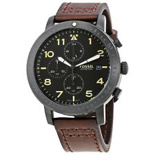 Fossil The Major Chronograph Black Dial Mens Watch CH3086