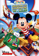 Mickey Mouse Clubhouse: Around the Clubhouse World (DVD, 2014)  Disney Slipcover