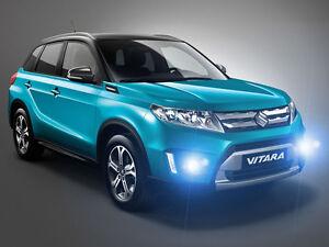 Xenon Halogen Fog Lamps Lights for 2015 2016 2017 2018 2019 2020 Suzuki Vitara