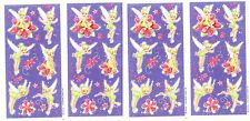 4 NEW Sheets TINKERBELL Disney Fairy Pixie Scrapbook Stickers!