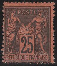 France Postage Stamp Cat #93 Unused LH Sismondo Certificate