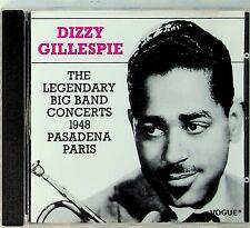 Dizzy Gillespie – The Legendary Big Band Concerts 1948 Pasadena Paris Live CD