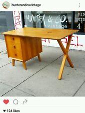 Snelling desk Mid Century Retro Vintage fler Parker Teak 1950s fred ward