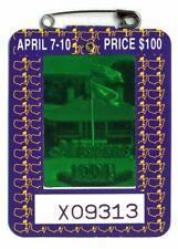 1994 Masters Augusta National Golf Club Badge Ticket Jose Maria Olazabal Win PGA