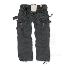 Surplus Premium Deluxe Mens Combat Cargo Trousers, Camo Army Military Work Pants