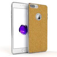 Schutz Hülle für Apple iPhone 8 / 7 Plus Glitzer Cover Handy Case Gold