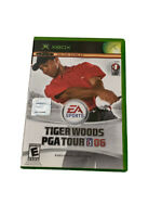 Tiger Woods PGA Tour 06 (Microsoft Xbox, 2005) Live EA Sports Video Game