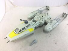 Vintage 1983 Kenner Star Wars Y-Wing Fighter Working Complete