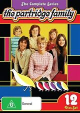 The Partridge Family: The Complete Series NEW DVD (Region 4 Australia) 12-DISCS
